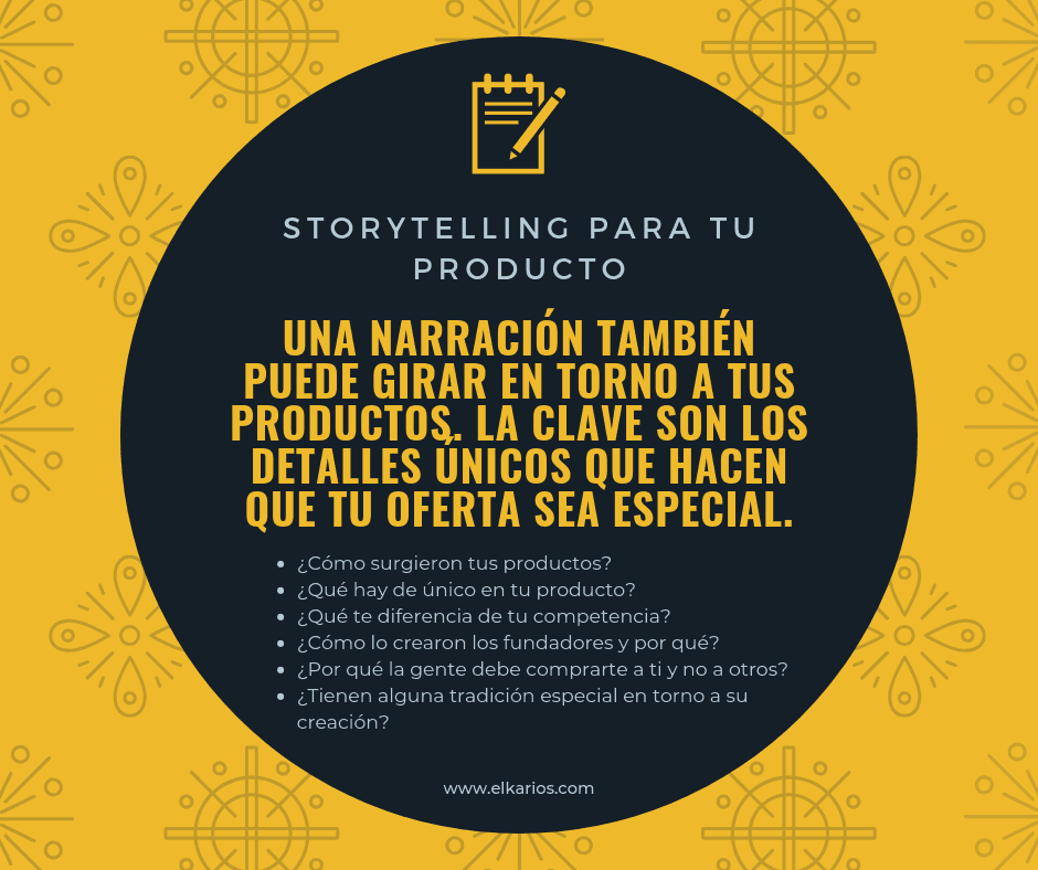 storytelling productos